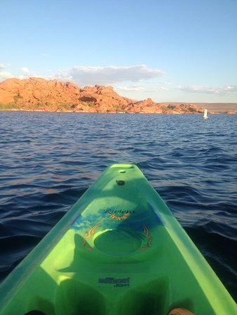 Red Mountain Resort: Sunset Kayaking