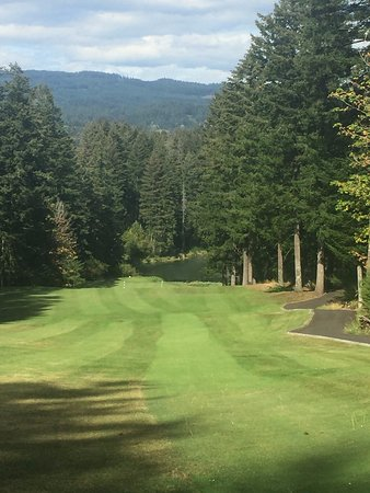 Stevenson, Etat de Washington : Golf @ Skamania Lodge