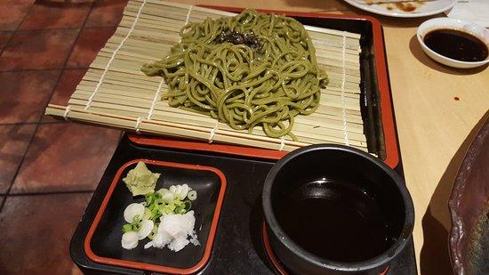 Ίρβινγκ, Τέξας: Cha soba, green tea noodle with soy dipping sauce