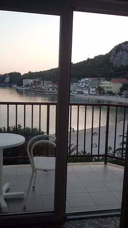 Klek, โครเอเชีย: Balcony view