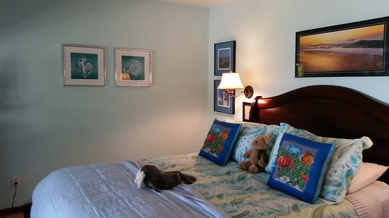 Sooke, Kanada: Very comfortable bed