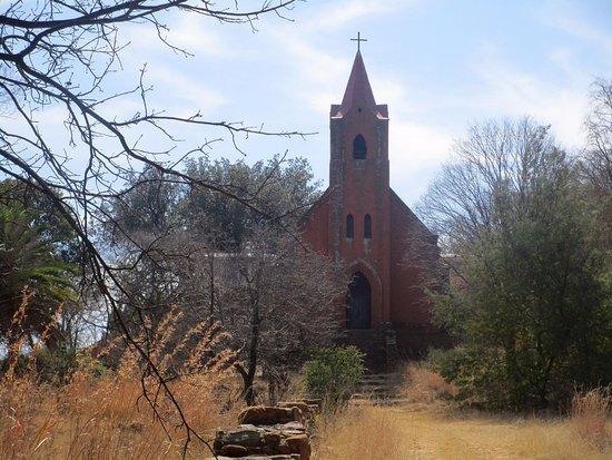 Greater Johannesburg, Sudáfrica: Kirche der ehemaligen Missionsstation