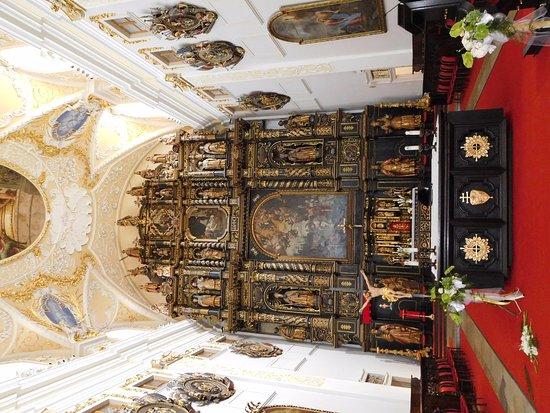 Trnava, Slowakije: intérieur de l'église