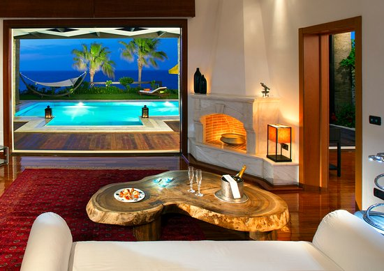 Porto Zante Villas & Spa: Living Room - Royal Spa Villa