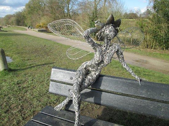 Trentham, UK: fairy