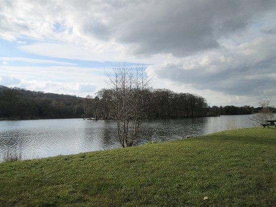 Trentham, UK: the views