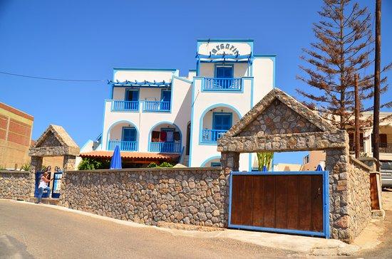 Karterádhos, Grecia: Margarita hotel facade