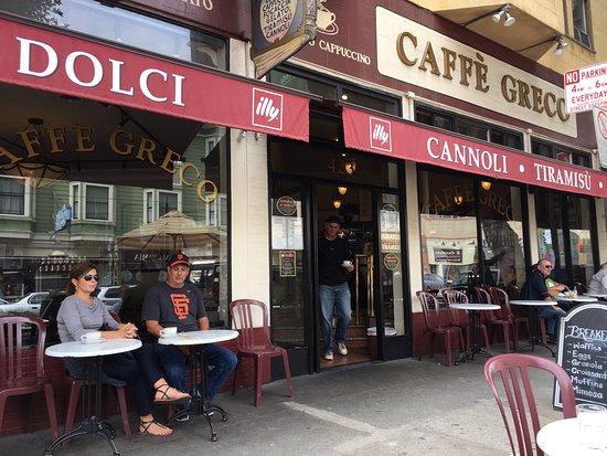 Caffe Greco San Francisco North Beach Telegraph Hill