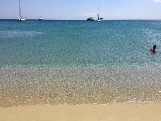 Kalo Livadi, Greece: Mare da Caraibi...