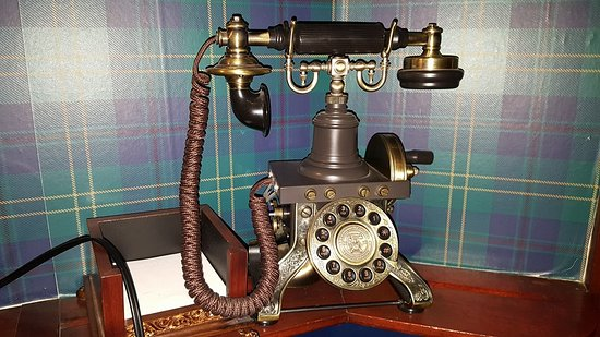 Bellefonte, PA: Antique phone