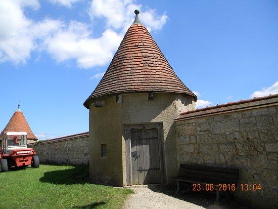 Burghausen, Allemagne : torre di guardia
