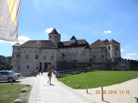 Burghausen, Allemagne : il castello