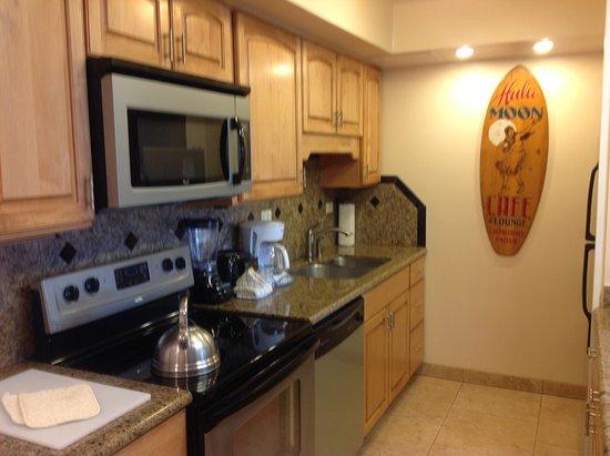 Aston Maui Kaanapali Villas Room 215 Kitchen