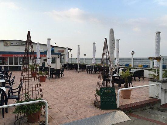 Butjadingen, Almanya: Strandcafe und Restaurant Rondell