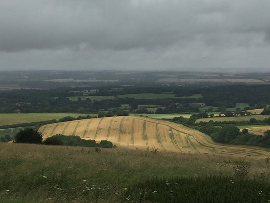 Inkpen, UK: View from the top