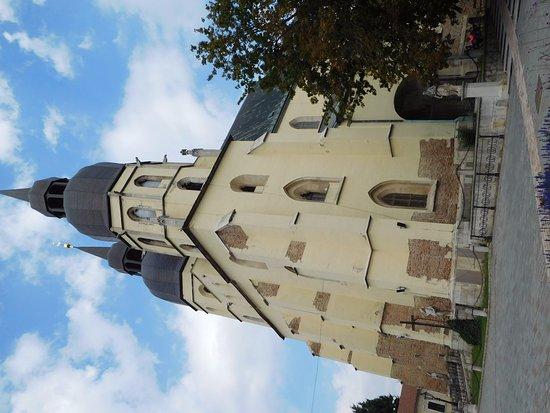 Trnava, Slowakije: basilique St Nicolas