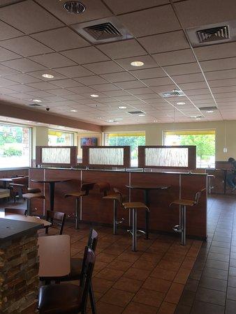 Jacksonville, Carolina del Norte: Dining area