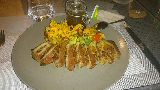 Restaurant Morganti: Magret de canard excellent