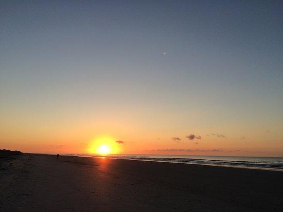 Folly Beach Public Beach: Sun rise