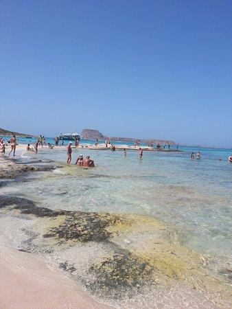Balos Beach and Lagoon: Good for snorkeling