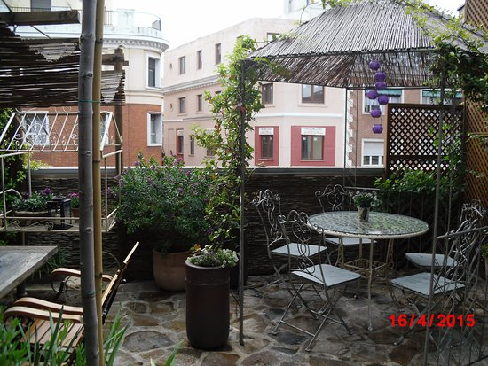 Te y cafe picture of el jardin secreto madrid tripadvisor for Cafe el jardin secreto