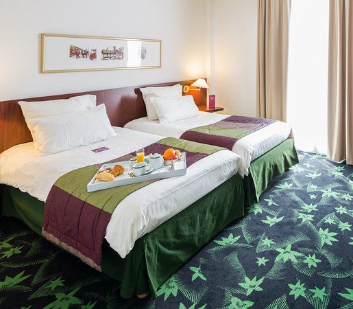 chambre twin - picture of hotel mercure lourdes imperial, lourdes