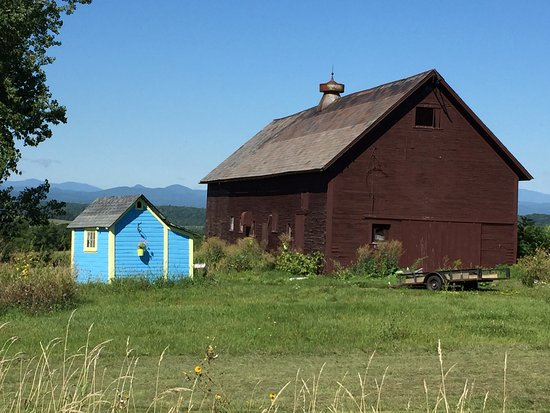 "Brandon, VT: ""Blue house"" on West Street"