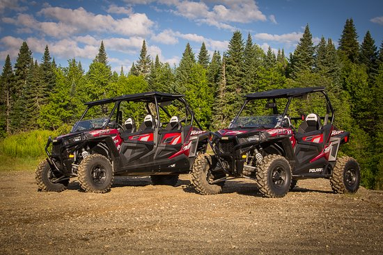 Pittsburg, Nueva Hampshire: 'Ultimate' Polaris RZR S 900 and RZR 4 900