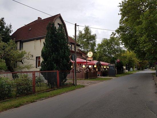 La Villa Due: Villa Due Bestensee außen