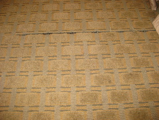 Pocatello, ID: Seam coming apart in carpet, may present a danger in accessible room