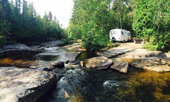 Chambord, Kanada: Merveilleux camping!