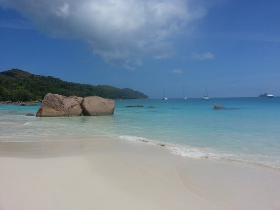 Praslin Island, Seychellerne: every day is a good day in Sey