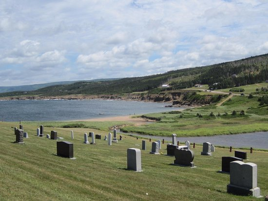Margaree Harbour, Canada: Calvin Church Graveyard near Margaree Harbor
