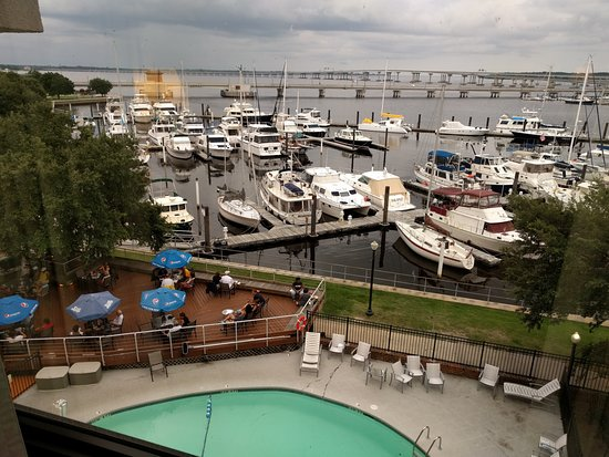 New Bern, NC: Terrific View of the Marina and Rivers