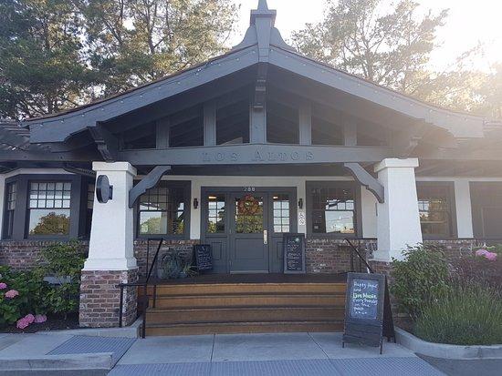Los Altos, Καλιφόρνια: Old Train Station now Voyageur du Temps