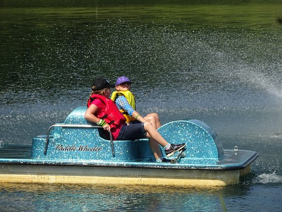 Macungie, PA: paddle boats on their large pond