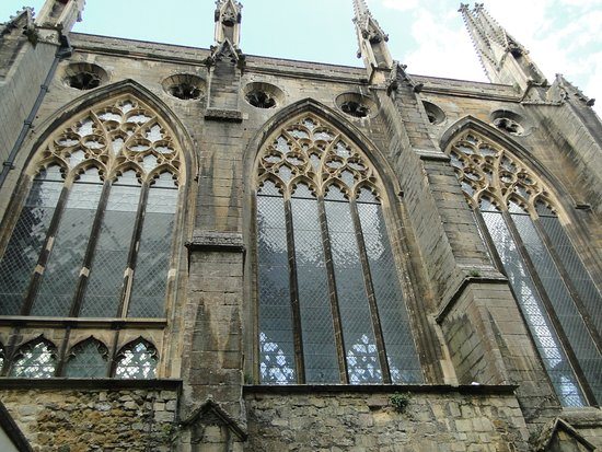 Lady Chapel exterior, Ely