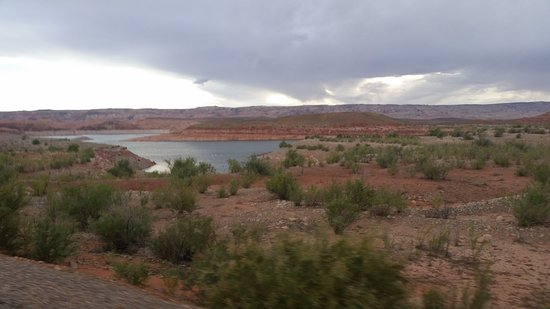 Halls Crossing, UT: lac Powell