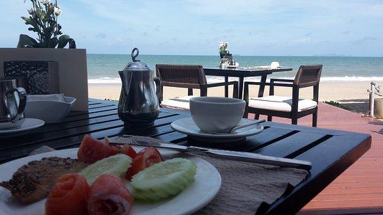 Layana Resort and Spa: Blick beim Frühstück