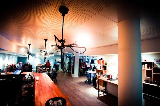 Skara, Σουηδία: Restaurangen