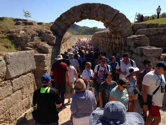 Olympia Kuno: Ancient Olympia Greece