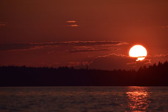 Southwest Harbor, ME: sunset