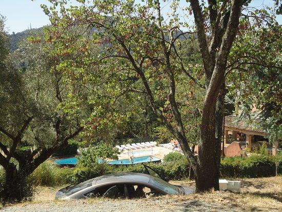 Les Adrets-de-l'Esterel, Frankrig: vue sur la piscine du camping