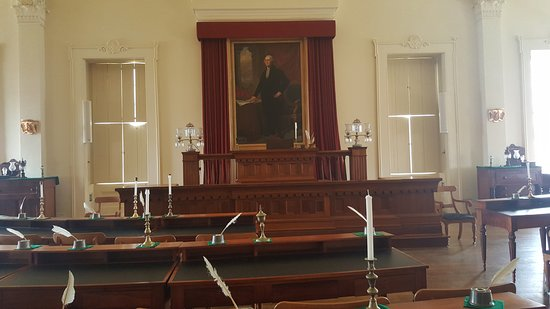 Old State Capitol State Historic Site: Meeting Room