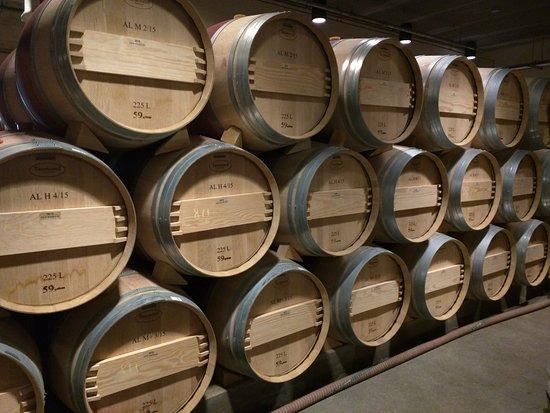 Оуквил, Калифорния: barrel room
