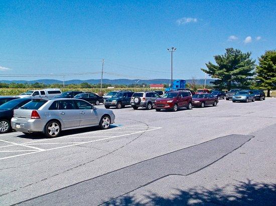 Carlisle, Pensilvania: Parking lot