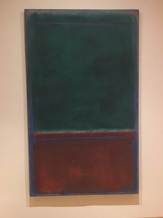 The Phillips Collection : Rothko. The original looks much more luminous.
