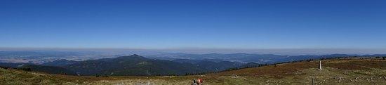 Miedzygorze, Polonia: Widok ze szczytu