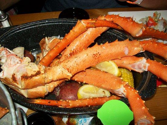 alaskan king crab bucket picture of harpoon harry s crab house rh tripadvisor ie