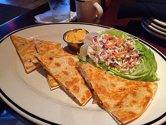 Clinton Township, MI: Tasty Chicken Quesadillas with Cole Slaw